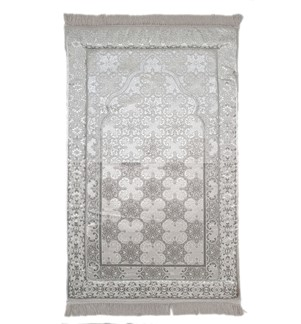 Prayer Mat Memory Foam- Large-Silver-3