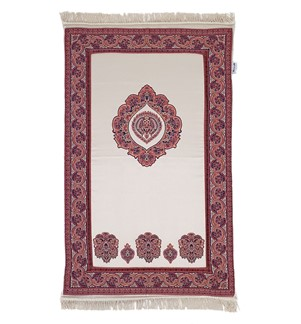 Prayer Mat Memory Foam- Large-Maroon