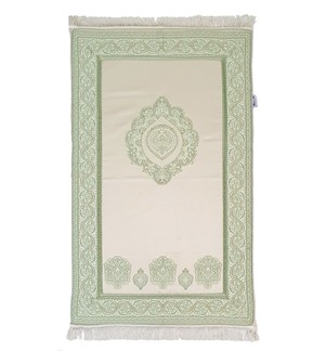 Prayer Mat Memory Foam- Large-Green