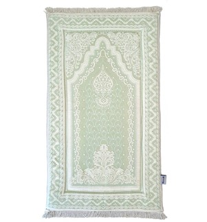 Prayer Mat Memory Foam- Solid-Green