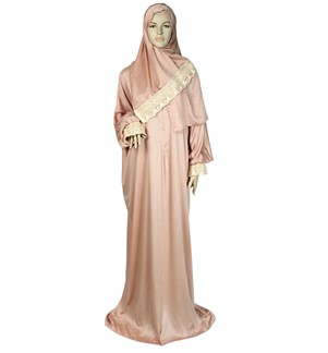 MuseuM Prayer Dress beige colour