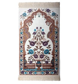 MuseuM Prayer Mat Soft and Silky-1068_WH